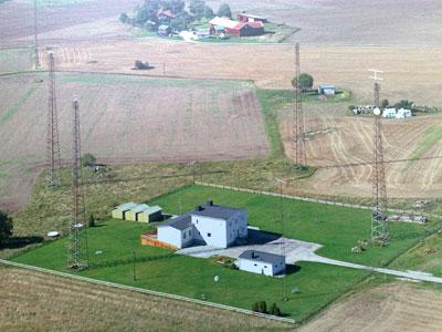 Radiostationen från ovan